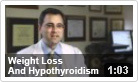 Weight Loss & Hypothyroidism