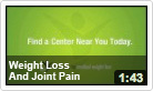Weight Loss & Joint Pain