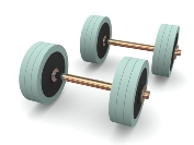 Exercise dumbbells